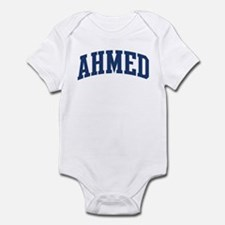 AHMED design (blue) Infant Bodysuit