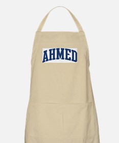 AHMED design (blue) BBQ Apron