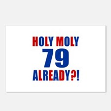 79 Holy Moly Already Birt Postcards (Package of 8)