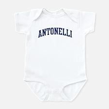 ANTONELLI design (blue) Infant Bodysuit