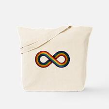 Rainbow Infinity Tote Bag