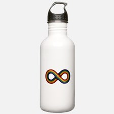 Rainbow Infinity Water Bottle