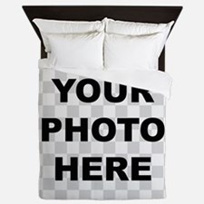 Your Photo Here Queen Duvet