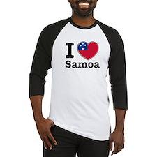 I love Samoa Baseball Jersey