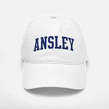 ANSLEY design (blue) Baseball Baseball Cap