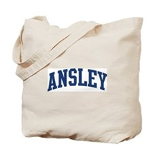 ANSLEY design (blue) Tote Bag