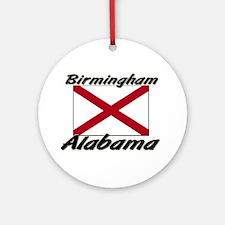 Birmingham Alabama Ornament (Round)