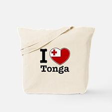 I love Tonga Tote Bag