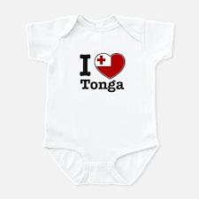 I love Tonga Infant Bodysuit
