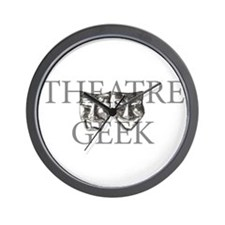 Theatre Geek Wall Clock