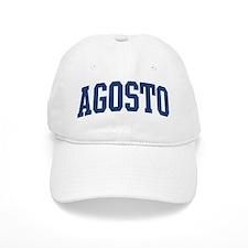 AGOSTO design (blue) Baseball Cap