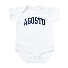 AGOSTO design (blue) Infant Bodysuit
