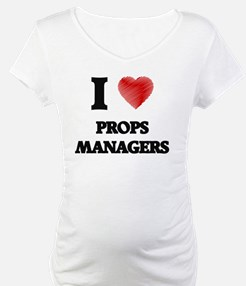 I love Props Managers Shirt