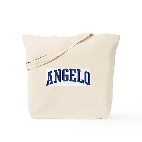 ANGELO design (blue) Tote Bag