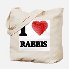Cute I love torah Tote Bag