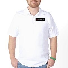 I Love my Loudi Girl Golf Shirt