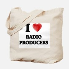 I love Radio Producers Tote Bag