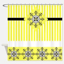 Mixed yellows Shower Curtain