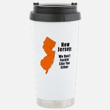 Cute New jersey Stainless Steel Travel Mug
