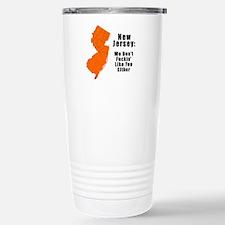 Cute New jersey Travel Mug