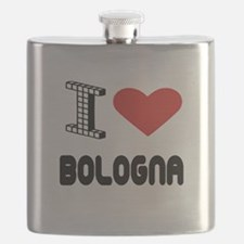 I Love Bologna City Flask