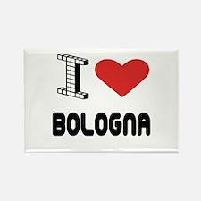 I Love Bologna City Rectangle Magnet