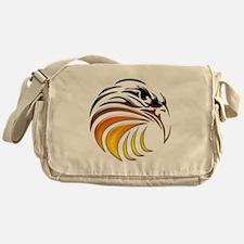 Tribal Eagle (color) Messenger Bag