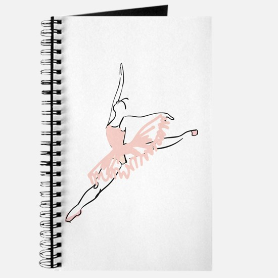 Pretty Pink Ballerina Journal