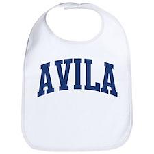 AVILA design (blue) Bib