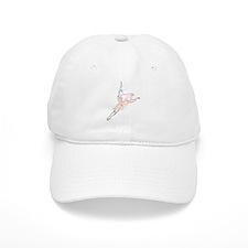 Pretty Pink Ballerina Baseball Baseball Cap