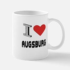 I Love Augsburg City Mug