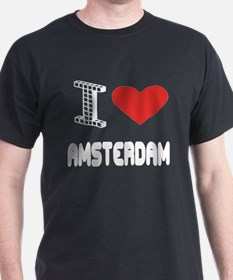 I Love Amsterdam City T-Shirt