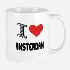 I Love Amsterdam City Mug