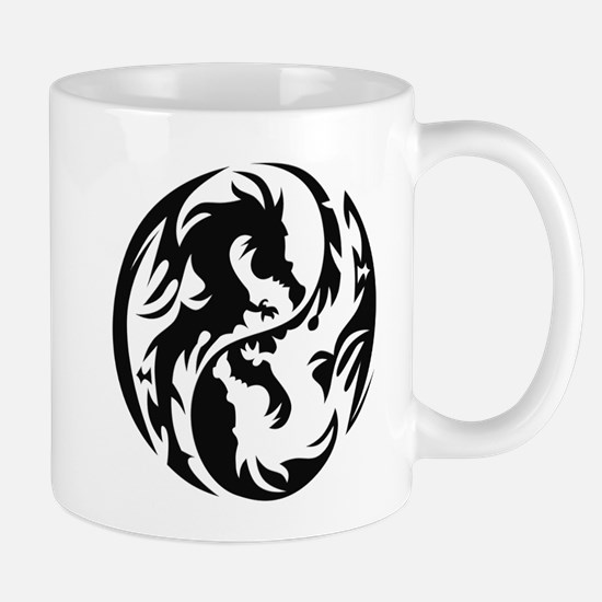 Tribal Dragons Mug
