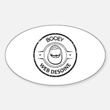 Booey Web Desoine Stamp Decal