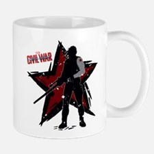 The Winter Soldier Silhouette - Captain Mug