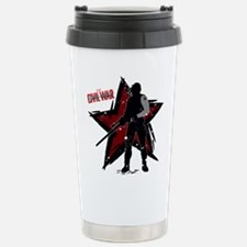 The Winter Soldier Silh Travel Mug