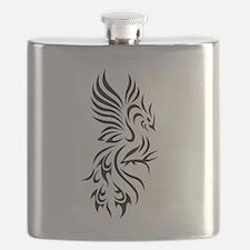 Tribal Phoenix Flask