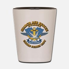 Search and Rescue Swimmer Shot Glass