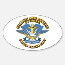 Search and Rescue Swimmer Decal