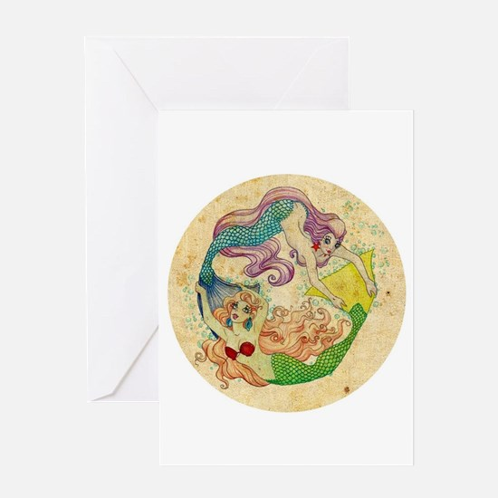 Pisces Greeting Cards
