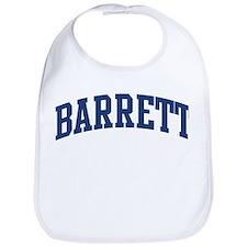 BARRETT design (blue) Bib