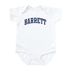 BARRETT design (blue) Infant Bodysuit
