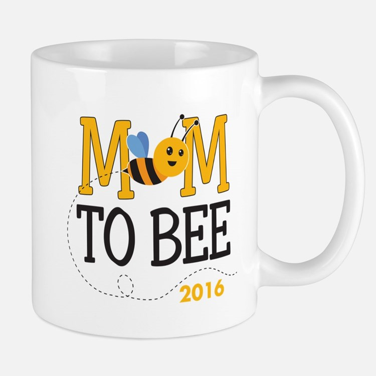 Mom to Bee Personalized Mug