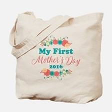 First Mother's Day Personalized Tote Bag
