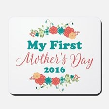 First Mother's Day Personalized Mousepad