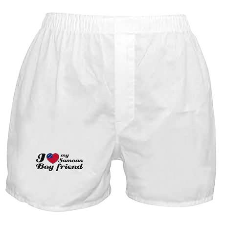 I love my Samoan Boyfriend Boxer Shorts