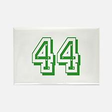 44 Green Birthday Rectangle Magnet