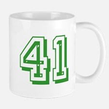 41 Green Birthday Mug