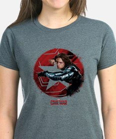 The Winter Soldier Red Stamp Tee